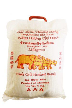 Kolme Elefanttia Jasmin Riisi 100% Pitkä