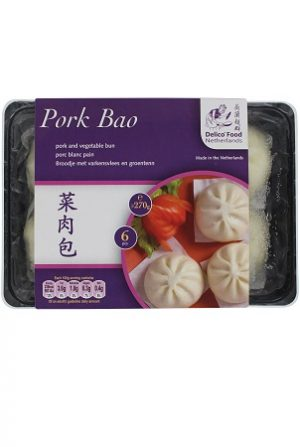 Pork Bao 6pcs/ 菜肉包