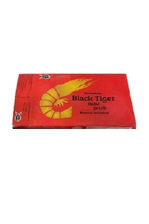 Kuorellinen Black Tiger rapu 21-25/黑虎大虾无头有壳 盒装