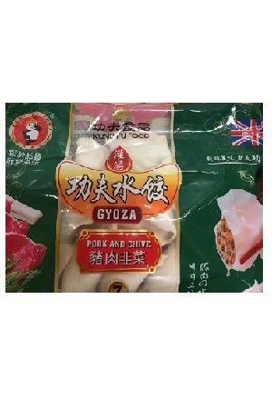 Dumpling Pork &  Chive/ 猪肉韭菜水饺 功夫