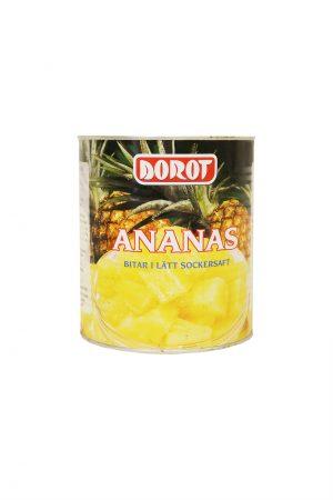 Dorot Ananaspala Sokeriliemessä Iso/Chunk/菠萝块
