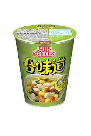 HK Nissin CupNoodle-chicken/合味道鸡蓉杯面