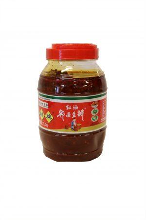 PI XIAN Broad sauce red oil/ 鹃城 红油豆瓣酱
