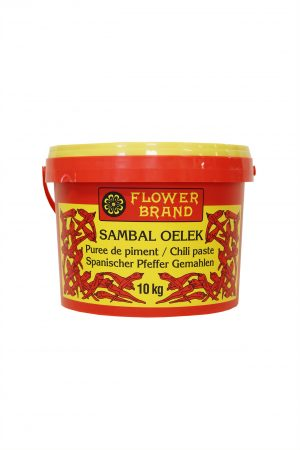 Sambal Oelek Flower brand/花牌三布辣椒酱
