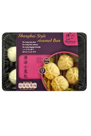ShangHai Style Pork Juicy Bun/上海灌汤小笼包