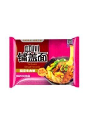 CN AK Inst noodle Veg&Beef flavour/阿宽四川铺盖面