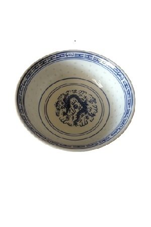 "Rice Bowl 9"" RICECORN/青花瓷大碗 22,86cm"