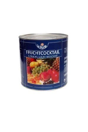 La Perla 5-hedelmä coctail/五种水果罐头