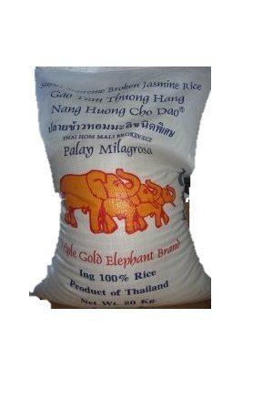 Jasmiini riisi Rikottu Triple Elephant 20kg/三象 泰国茉莉花香碎米