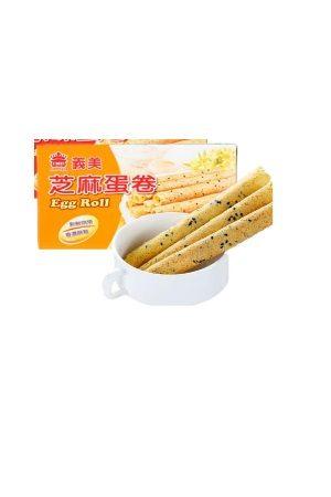 TW I Mei Sesame Egg Roll Cookies/ 艺美 芝麻蛋卷