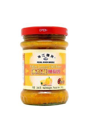 PRB Yellow Chilli Sauce/ 黄灯笼辣椒酱 珠江桥牌