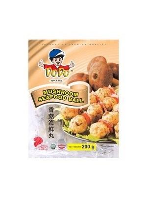 Mushroom Seafood Balls/ 香菇海鲜鱼丸